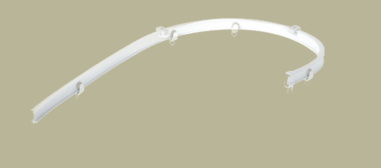 Gallery Of Ceiling Mount Curtain Track