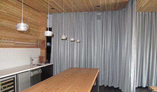 The Flextracks Flexible Curtain Tracks Bendable Curtains