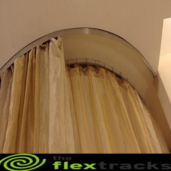 continuous curtain track