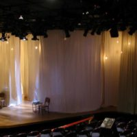 Theater drapery application 20' hall
