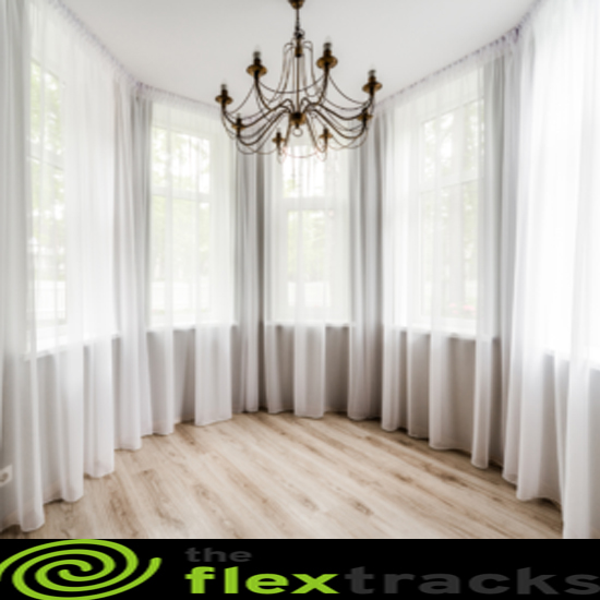 bendable curtain track